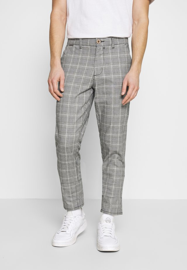 CHECK PANT - Broek - grey
