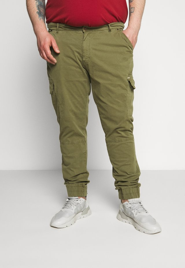 Cargo trousers - martini olive