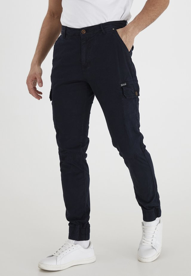 BHNAN PANTS NOOS - Cargobroek - dark navy blue
