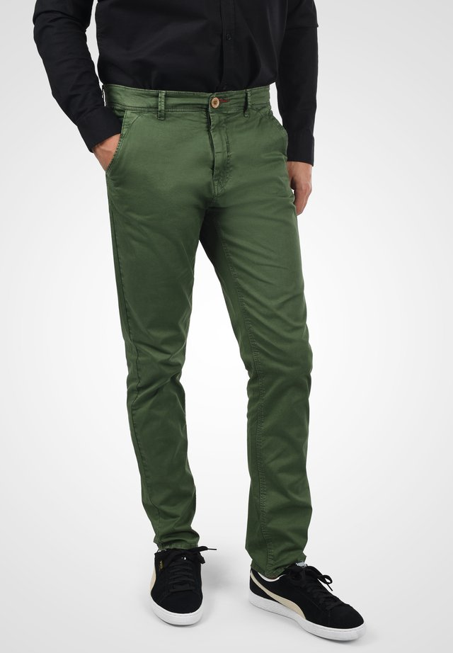 Chinos - forest green