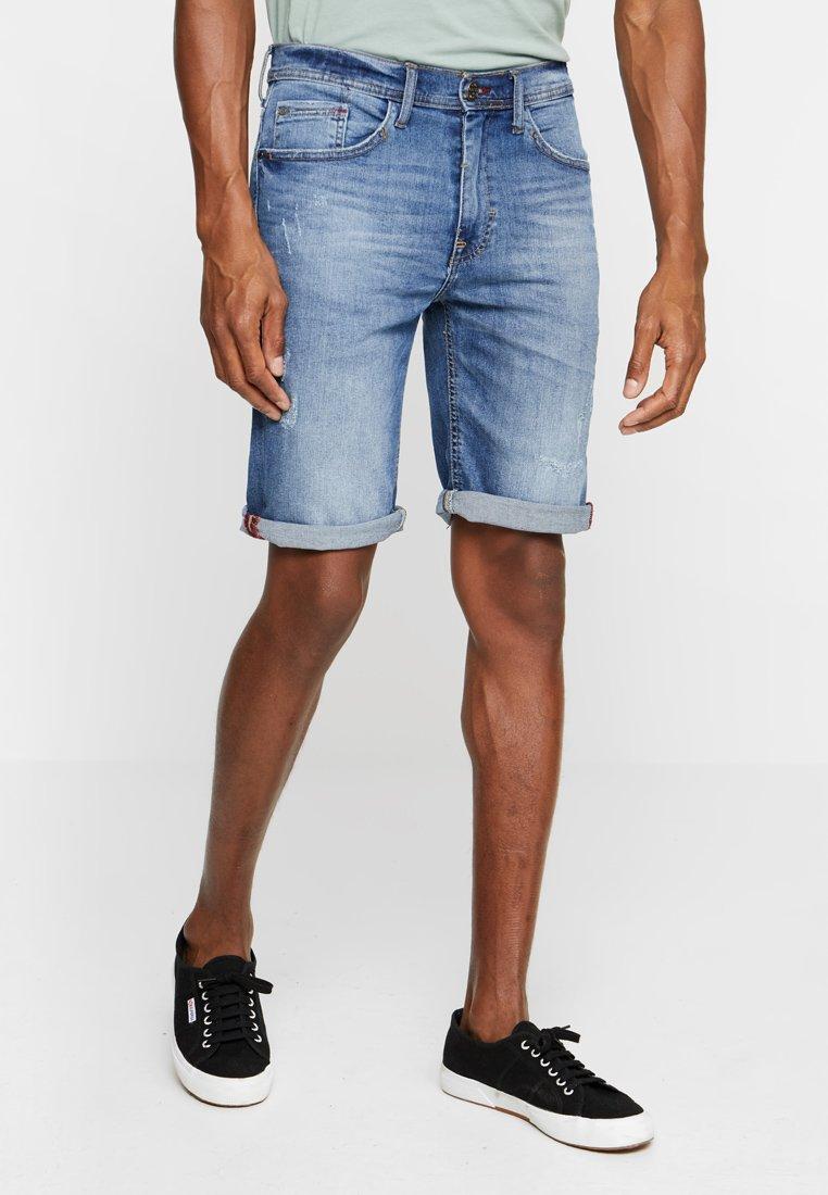 Blend - Jeans Shorts - denim light blue