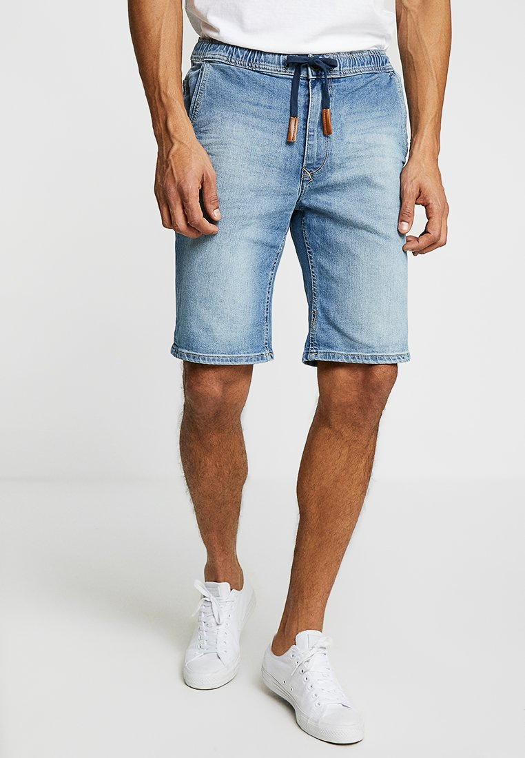 Blend - Shorts di jeans - denim light blue
