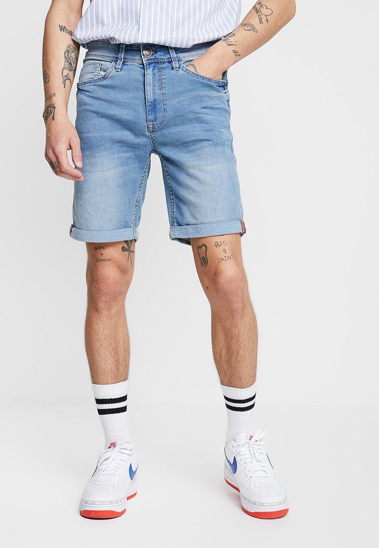 Blend - Szorty jeansowe - denim light blue