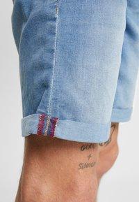 Blend - Szorty jeansowe - denim light blue - 4