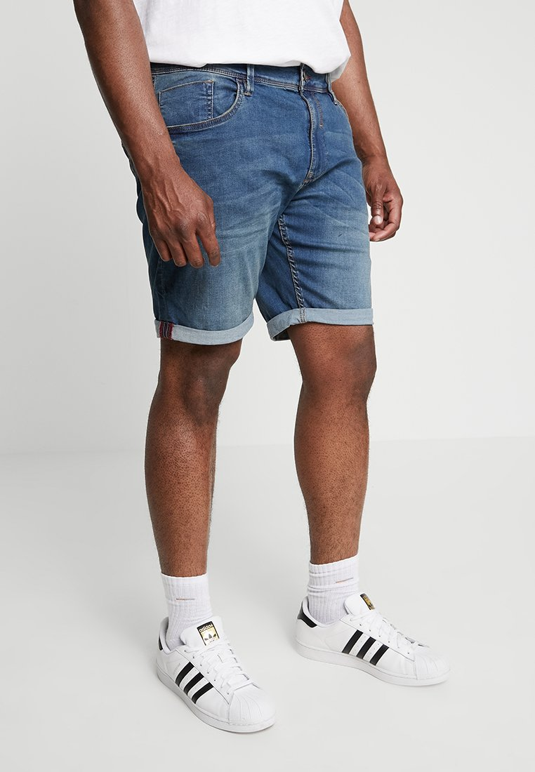 Blend - Jeans Shorts - denim middle blue