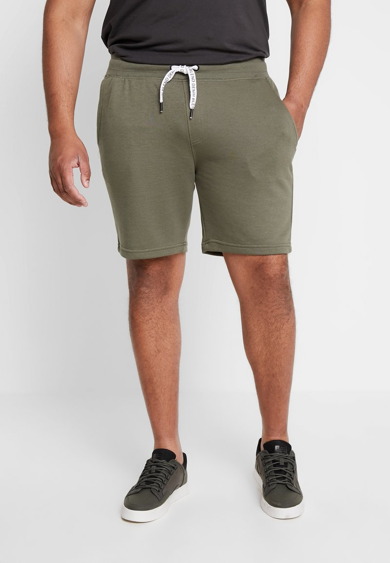 Blend - Shorts - dusty olive green