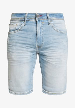 SCRATCHES - Shorts vaqueros - denim light blue