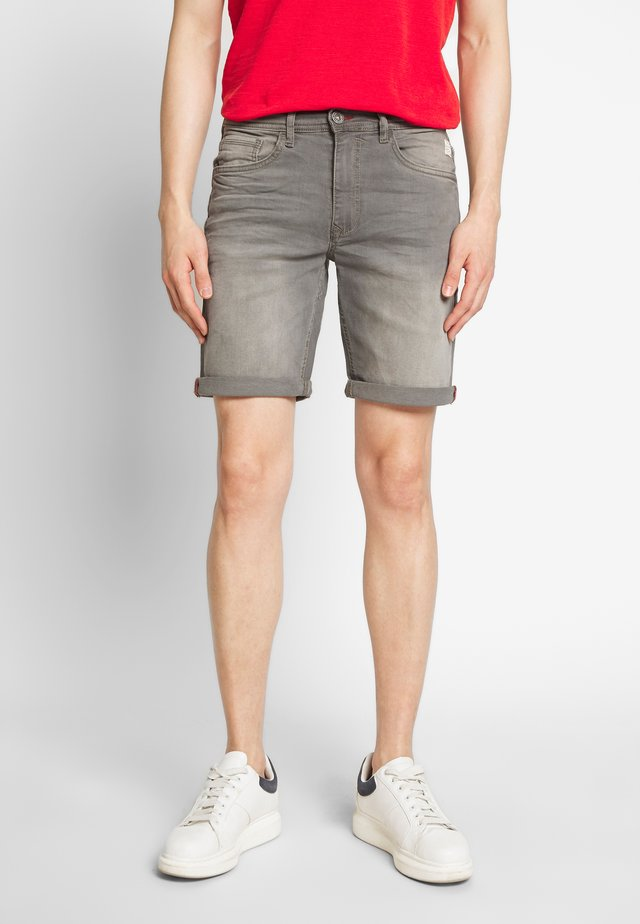 CLEAN - Jeansshort - denim grey