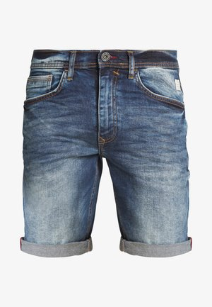 CLEAN - Denim shorts - denim middle blue