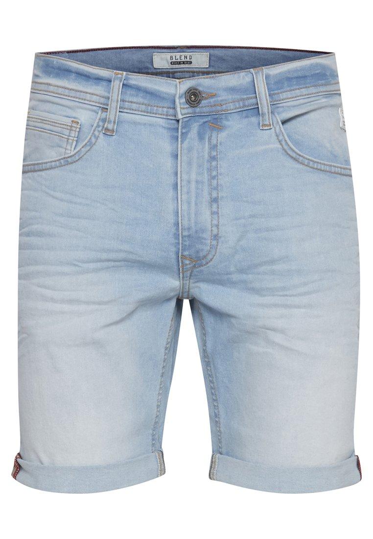Blend CLEAN TWISTER - Szorty jeansowe - denim light blue