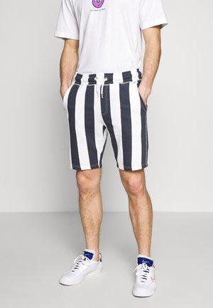 Teplákové kalhoty - dark navy blue