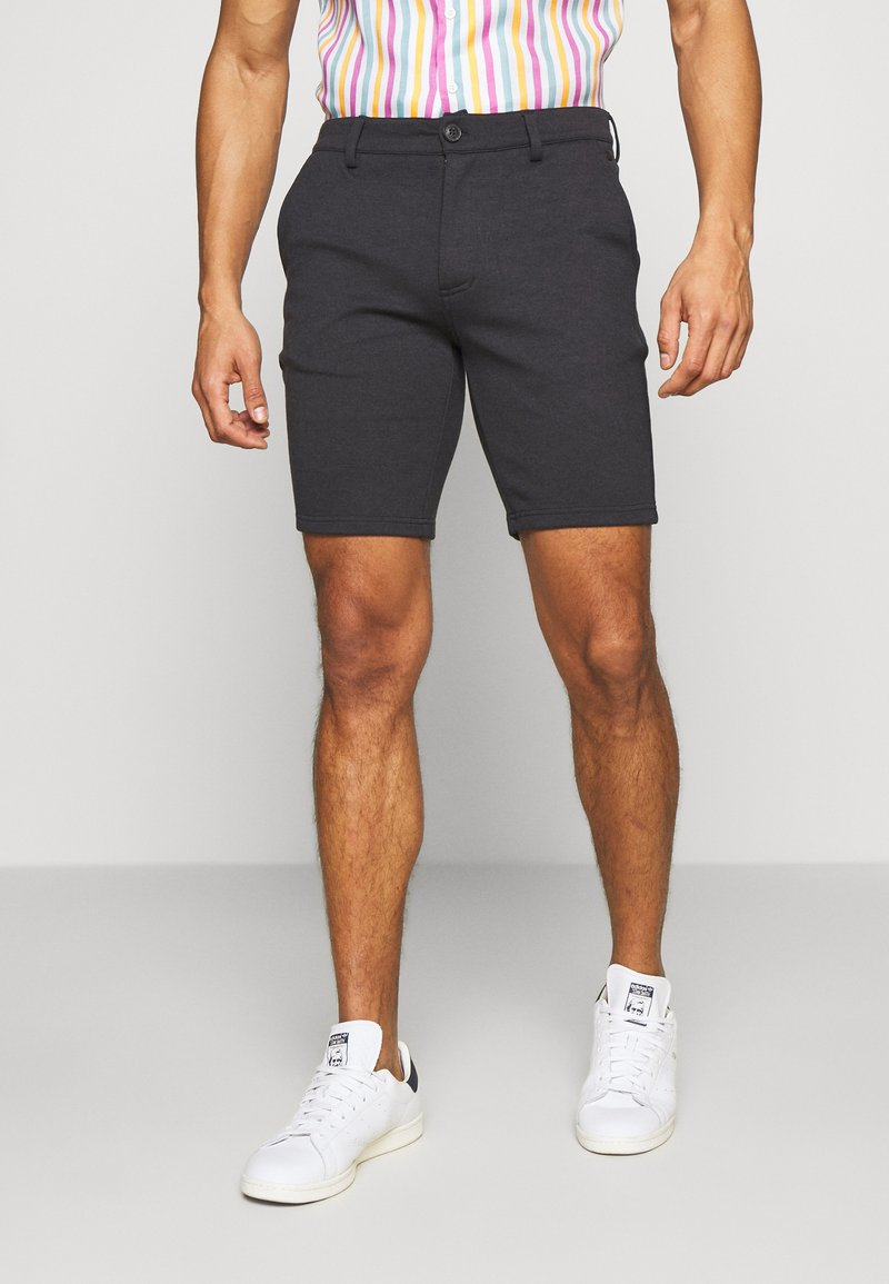 Blend - Shorts - dark navy blue