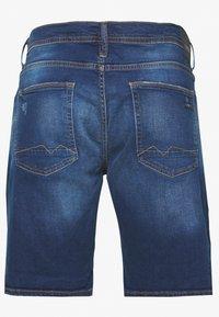 Blend - DENIM  - Denim shorts - denim dark blue - 1