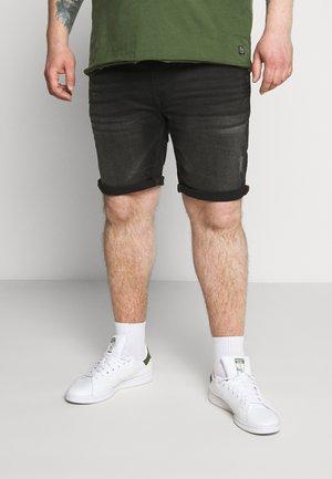 DENIM  - Denim shorts - black denim