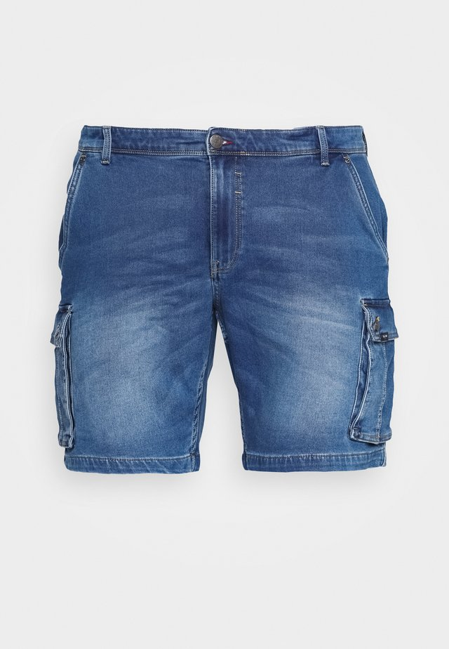 Jeans Shorts - denim middle blue