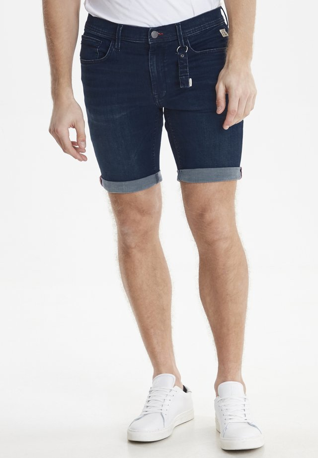 BLEND DENIM MULTIFLEX SHORTS JET FIT - Shorts di jeans - denim dark blue
