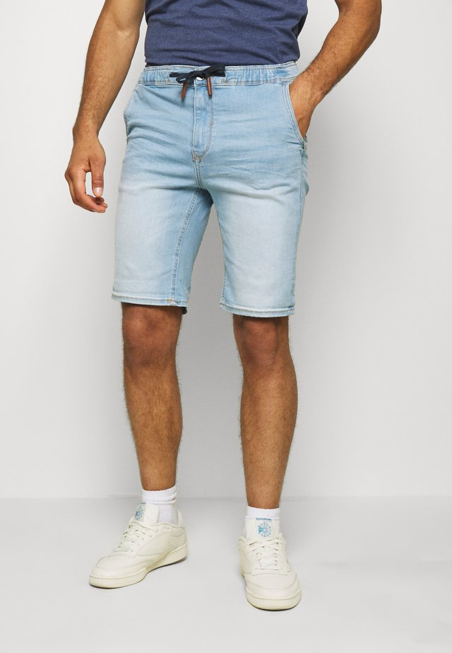 Jeansshort - denim light blue