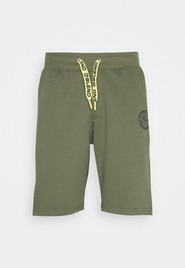 Shorts - kalamata green