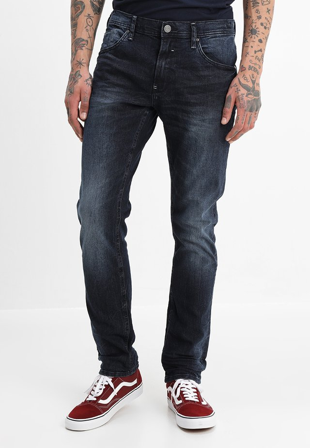 Jeans Straight Leg - middle blue