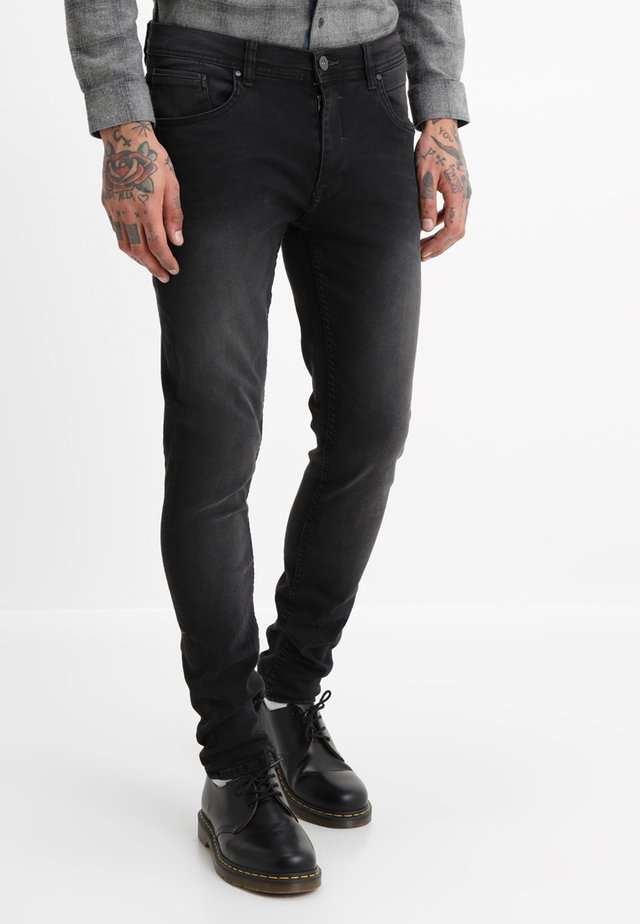 Jeansy Slim Fit - denim black