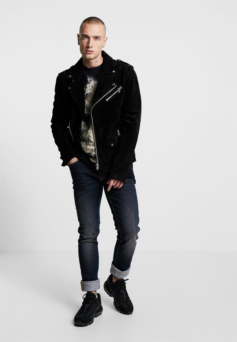 Blend Jeans Straight Leg - Denim Middle Blue