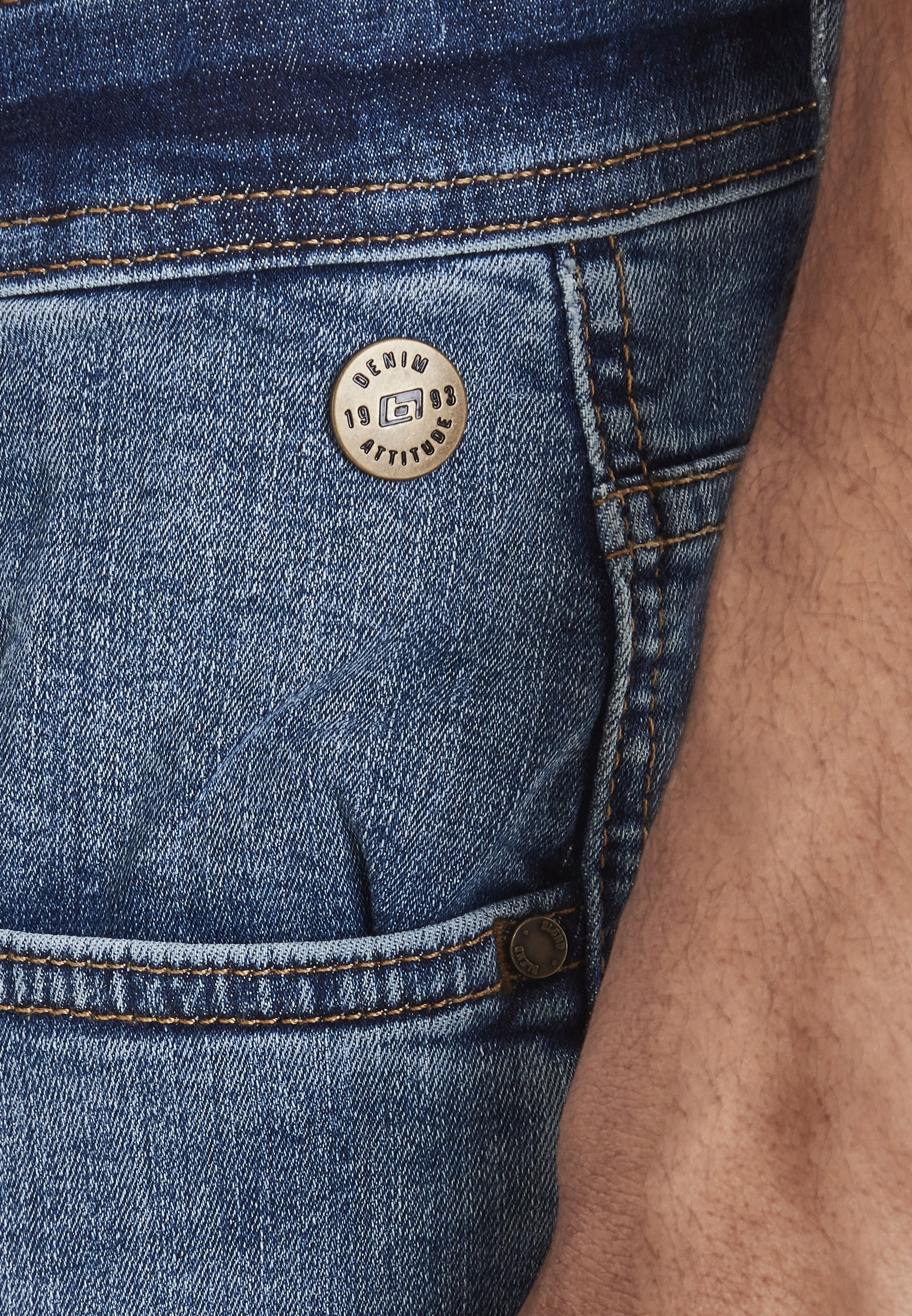 Blend Noos - Jeans Straight Leg Blue Denim