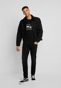 Blend - JET - Jeans slim fit - denim black - 1