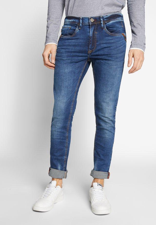 JET - Jeans Slim Fit - denim middle blue