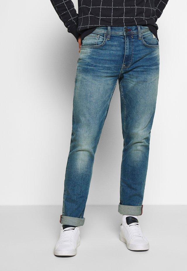 TWISTER - Jeansy Slim Fit - denim light blue