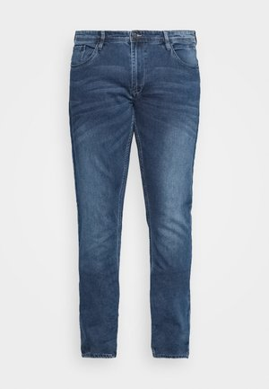 Slim fit jeans - denim middle blue