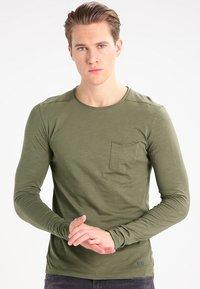 Blend - Camiseta de manga larga - olive - 0