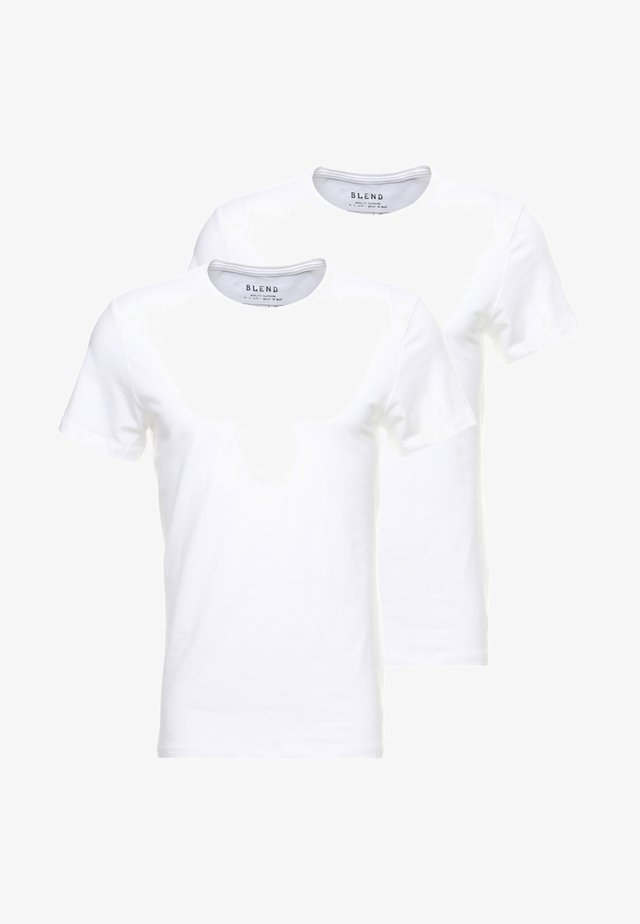 2-PACK - T-Shirt basic - white