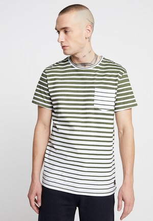 TEE - T-shirt print - dusty olive