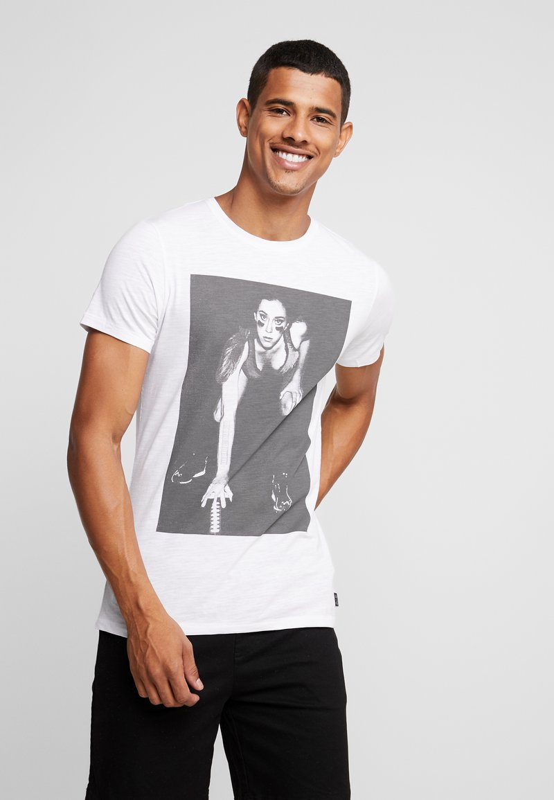 Blend - TEE - T-shirt con stampa - white