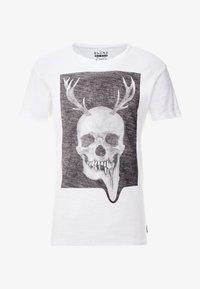 Blend - Camiseta estampada - white - 4