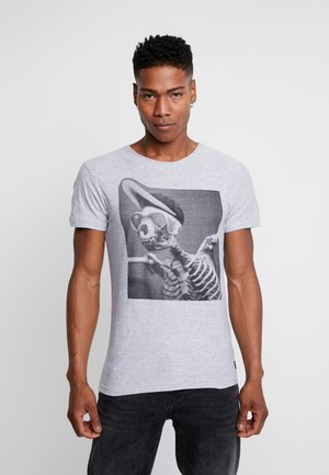 T-shirts med print - stone mix