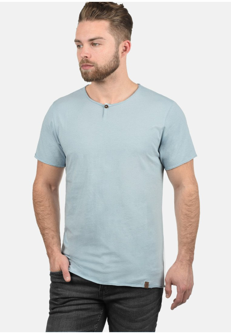 Blend Shirt basic blue IRETOT light vY67gbfy