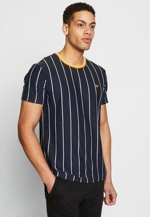TEE - Print T-shirt - dark navy blue