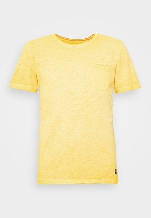 T-shirts print - lemon yellow