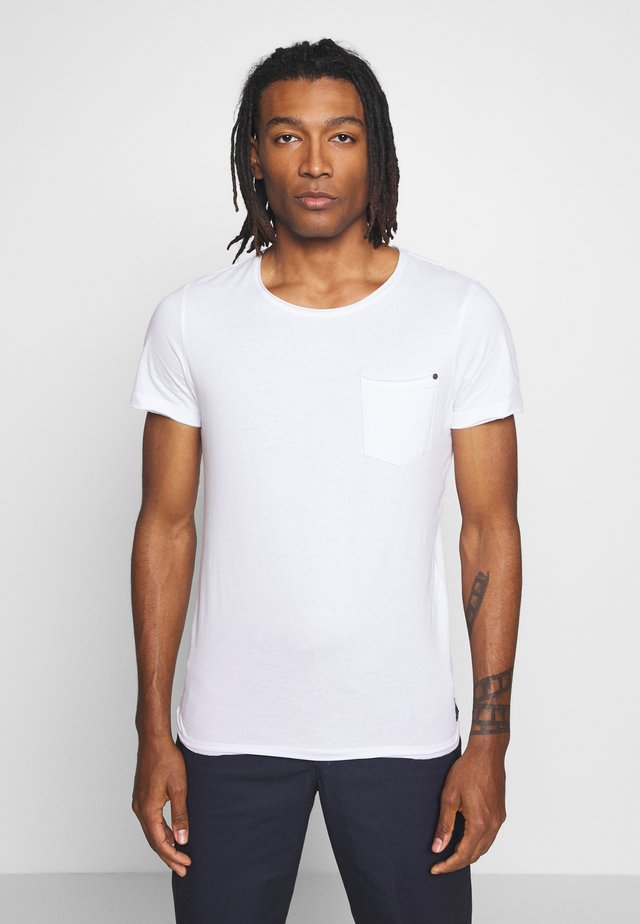SLIM  - T-shirt basic - white