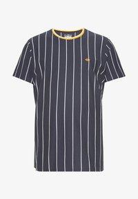 Blend - TEE - Print T-shirt - dark navy blue - 0