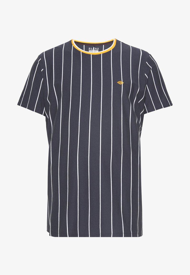 Blend - TEE - Print T-shirt - dark navy blue