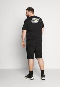 Blend - Print T-shirt - black - 2