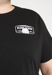 Blend - Print T-shirt - black - 7