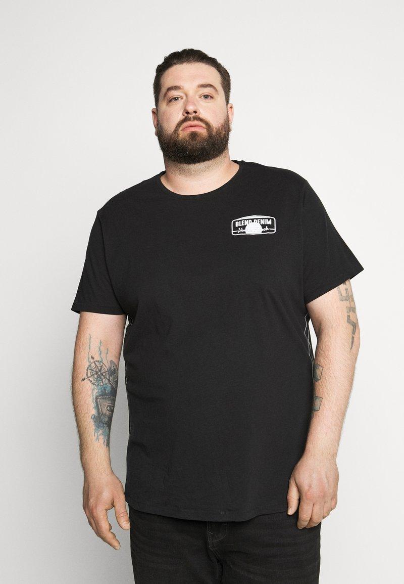 Blend - Print T-shirt - black