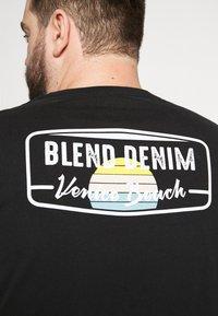Blend - Print T-shirt - black - 4