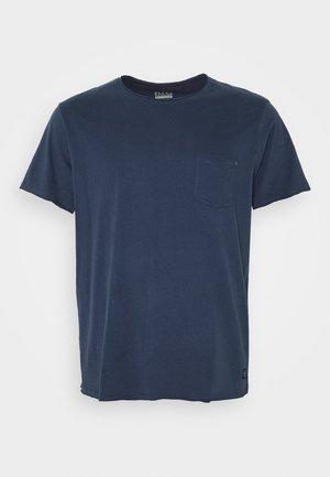 SLIM  - T-shirt - bas - denim blue
