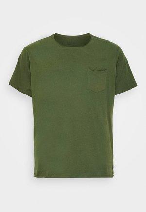 SLIM  - Basic T-shirt - forest green