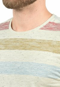 Blend - EFKIN - Print T-shirt - rust red - 2