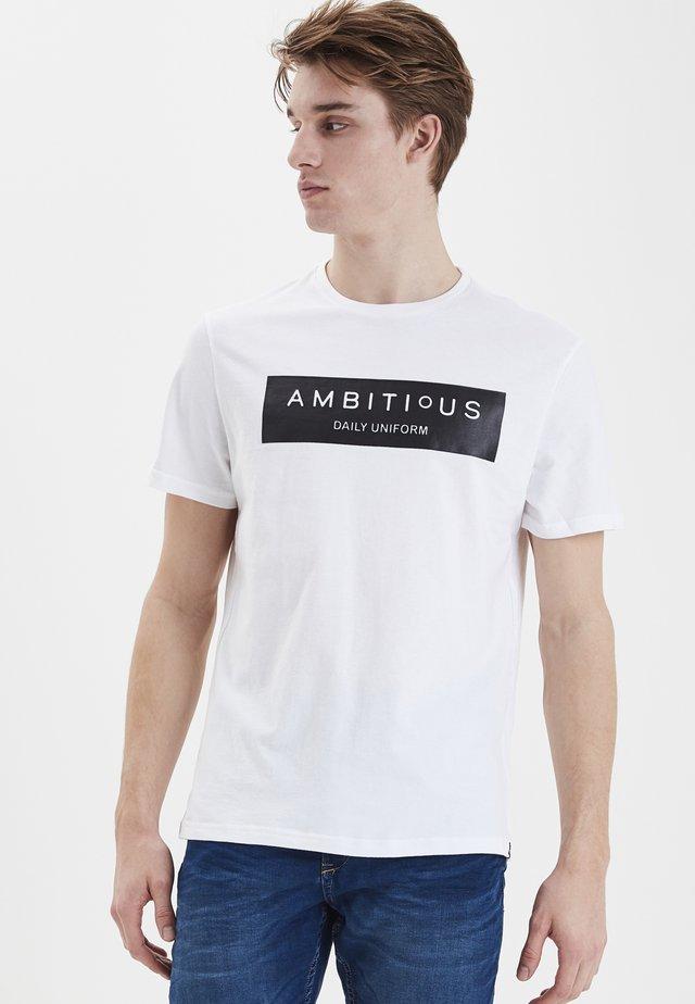 BLEND TEE  - T-shirt med print - white